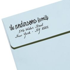 "Custom Personalized Eco Friendly Self Inking Address Stamp Wedding Gift, Return Address, Etsy Shop Labels ""Names9"""