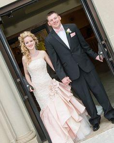 Real Brides/ David Tutera Dresses/David Tutera for Mon Cheri Bride ~ Mary on http://itsabrideslife.com