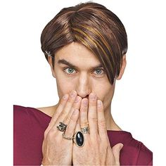 SNL Stefon Wig - One Size ** Want to know more, click on the image.