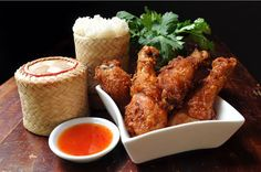 Thai Deep-Fried Chicken Recipe — Dishmaps