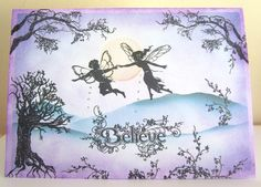 Handmade fairy Card £2.00