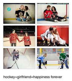 """David just likes the style of these. Also we'd like a picture of circling/ """"fighting"""" gloves off, maybe under our jerseys have tampa vs avalanche lol Hockey Engagement Photos, Engagement Couple, Engagement Pictures, Engagement Shoots, Wedding Pictures, Pre Wedding Photoshoot, Wedding Shoot, Wedding Ideas, Picture Ideas"""
