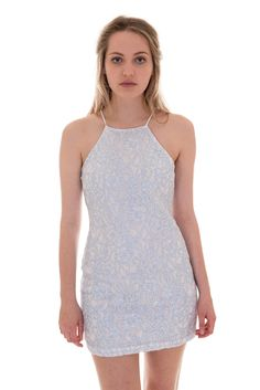 Glamorous Square Front Lace Bodycon Dress | Dresses | DIZEN
