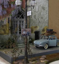 Great detail in this miniature street scene!