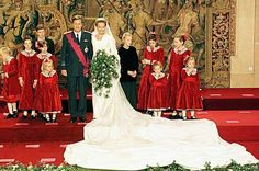Princess Mathilde married Prince Philippe of Belgium in 1999
