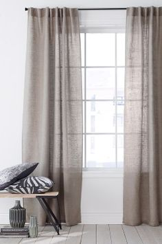 Jaw-Dropping Tips: Cafe Curtains Dreams curtains bohemian boho.Cafe Curtains With Blinds curtains bedroom minimalist. Home Curtains, Curtains Living, Country Curtains, Curtains With Blinds, Linen Curtains, Blackout Curtains, Luxury Curtains, Farmhouse Curtains, Kitchen Curtains