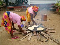 Exotische Reizen Suriname - Cassavebrood bakken