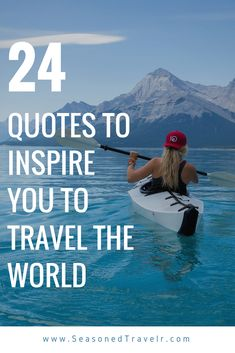 24 Quotes to Inspire You to Pack Your Bags and Travel the World - The Seasoned Travelr Motivational Quotes, Inspirational Quotes, Pack Your Bags, Entrepreneur Motivation, Motivate Yourself, Travel Packing, Travel Quotes, Inspire, Reading