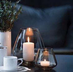 Rocks Telykt Amber - designerhome.no Amber, Candle Holders, Rocks, Candles, Elegant, Lily, Classy, Chic, Porta Velas