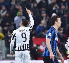 In gol nel secondo tempo al 2' Bonucci e al 39' Morata su rigore (ANSA)
