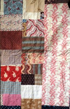 Tennants Auctioneers: Large 19th Century Patchwork Quilt