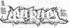 Best Graffiti Design: Graffiti Blackbook Sketches, 4 Graffiti Letters Bukue