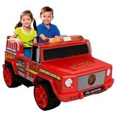 Found it at Wayfair - 12V Fire Engine in Red