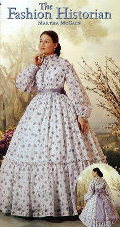 Women's Civil War Dress Gown Pattern Simplicity 5442 OOP