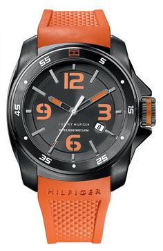 53aa294ec4695 Tommy Hilfiger Silicone Strap Watch available at Nordstrom Tommy Hilfiger  Relojes