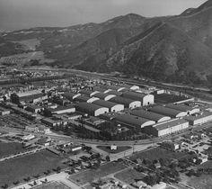 SAN FERNANDO VALLEY | BURBANK:  Warner Bros. Studios In Burbank 1939. definitely Pre-Ciao Cristina... More at http://www.ciaocristina.com