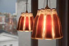 Coke bottle lights