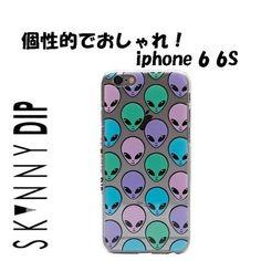 SKINNYDIP スマホケース・テックアクセサリー 【即納セール】 ロンドン宇宙人  iphone 6 6s ケース skinnydip