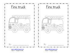 Fire Safety sight word reader.