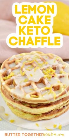 Low Carb Sweets, Low Carb Desserts, Low Carb Recipes, Dessert Recipes, Healthy Desserts, Dinner Recipes, Minions, Waffle Maker Recipes, Keto Waffle