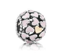 Pandora Pink Lots of Love Charm