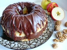 Caramel Apples, Doughnut, Pudding, Cake, Sweet, Recipes, Food, Candy, Food Cakes