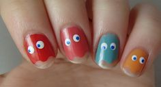 31DC Inspired by a Game: PacMan Nails!