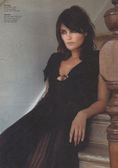 ☆ Helena Christensen | Photography by Christophe Kutner | For Style Magazine UK | November 2002 ☆