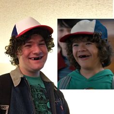 """My friend's """"Dustin"""" from Stranger Things costume is eerily identical : funny Stranger Things Theme, Stranger Things Jonathan, Stranger Things Characters, Stranger Things Aesthetic, Eleven Stranger Things, Stranger Things Season, Diy Costumes, Halloween Costumes, Costume Ideas"""