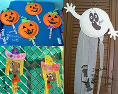 Jack O Lantern craft for party.  Would need to find orange plates
