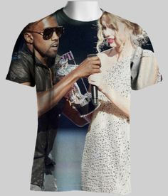 Kanye / Taylor swift shirt- Oh my goodness, he's a jerk!