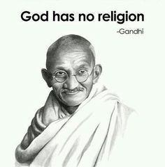 Gandhi on Religion. God is all religion! Great Quotes, Quotes To Live By, Me Quotes, Inspirational Quotes, Peace Quotes, Yoga Quotes, Strong Quotes, Change Quotes, Attitude Quotes