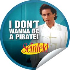 I don't wanna be a pirate! Seinfeld is on GetGlue! http://getglue.com/tv_shows/seinfeld