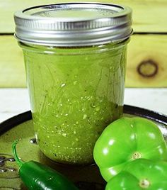 Tomatillo Verde Sauce is great over chicken, works well as an enchilada sauce and is delicious for noshing with a tortilla chip or two. .