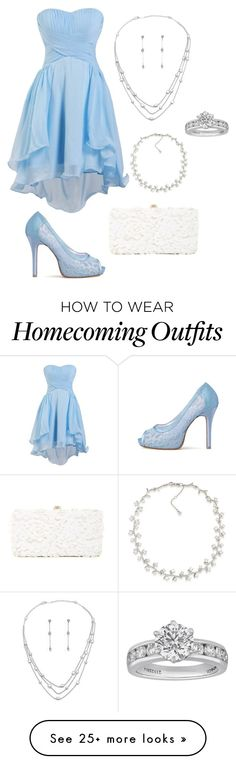 """""""Unbenannt #340"""" by sammur-sarah on Polyvore featuring Tiffany & Co., Deux Lux and Carolee"""
