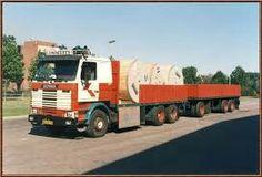 Scania R 113 6x2 met open aanhanger van Lommerts in Delfzijl Road Transport, Cool Trucks, Transportation, Cars, Soldiers, Vehicles, Big, Trucks, Europe