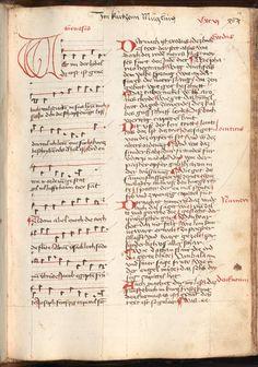 Kolmarer Liederhandschrift Rheinfranken (Speyer?), um 1460 Cgm 4997  Folio 1227