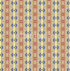 Tones of golden decoration textile pattern
