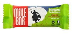 Mule Bar wrapped in compostable NatureFlex™ from Innovia Films.
