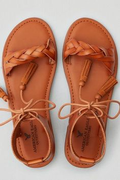 American Eagle Outfitters AE Lace-Up Ankle Sandal