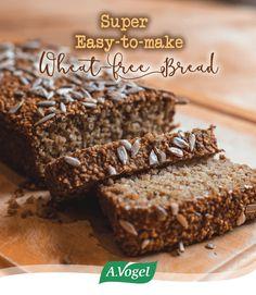 Super Easy To Make Wheat-free Bread