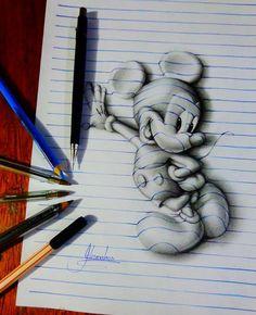 Desenhos criativos em 3D (2)