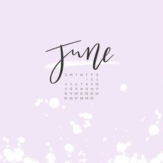 June. The month of my birthday, the month that signals the start of summer, and the month that I officially became self employed. Celebrating my birthday and my business anniversary all month long.  .  .  .  .  .  .#thatsdarling #abeautifulmess #verilymoment #designlove #calendar #calligraphy #handlettering #handwritten #handwriting #lettering #typography #brushpen #penandink #script #moderncalligraphy #letterfolk #watercolors #watercolorart #stationary #stationaryaddict #stationarylove…