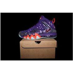 http://www.asneakers4u.com/ Nike Barkley Posite Max 76ers Silver/Black |  Charles Barkley Shoes | Pinterest | Nike