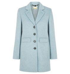 Blue NW3 Hetty Coat | Coats | Coats and Jackets | Hobbs