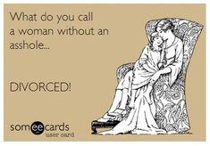 Thursday funnies gallery – a few chuckles on the loose - PMSLweb Just For Laughs, Just For You, Thursday Humor, Divorce Party, Divorce Humor, Divorce Law, Divorce Quotes, Thing 1, Super Funny Quotes