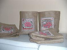 cestas Burlap, Reusable Tote Bags, Bushel Baskets, Flowers, Hessian Fabric, Jute, Canvas