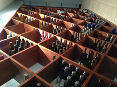 Orso wine wall
