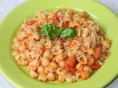 Makaron z cieciorką i pomidorami - Krok 5