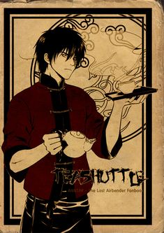 The Tea Server -- this looks very anime. oh well!